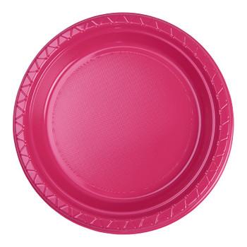 Plate Round 223mm Magenta 20 Pkt