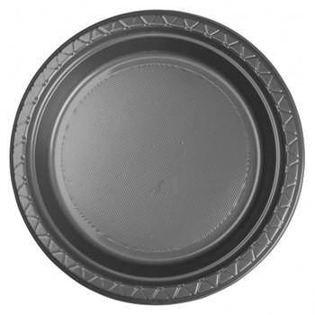 Plate Round 223mm Silver 20 Pkt