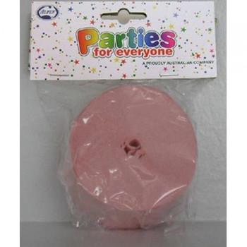 Streamer Crepe 25M - Pink
