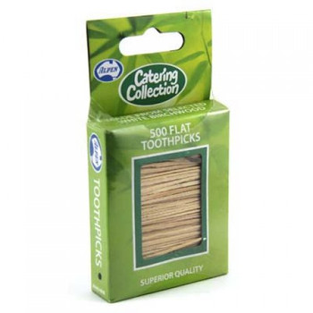 ALPEN FLAT TOOTHPICKS 500 PACK