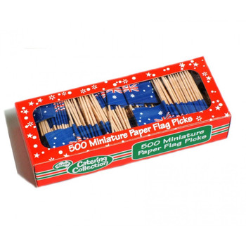 Toothpicks Australian Flag - 500
