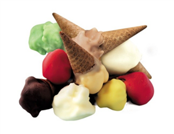 Mini Bambino Gelato Cones Assorted 12 pack