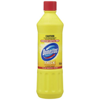 Domestos Citrus Fresh Thick Bleach 750ml