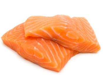 Atlantic Salmon Portions Skinless raw