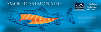 Pacific West Smoked Atlantic Salmon Fillets 1kg Pack