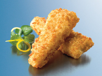 Crumbed Ovenable Fish 8 x 84g - Catermate