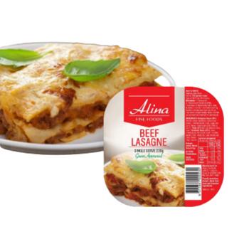 Alina Beef Lasagne Single Serve 24 Pack (Halal)