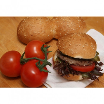 MINI HAMBURGER SLIDER BUNS 6cm CARTON 200 x 25g
