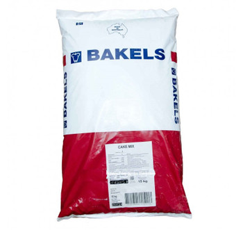 CAKE MIX WHITE MUD 15KG - BAKELS