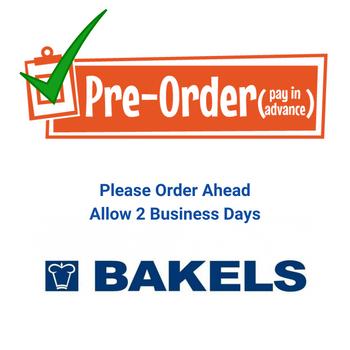 Please Order In Advance