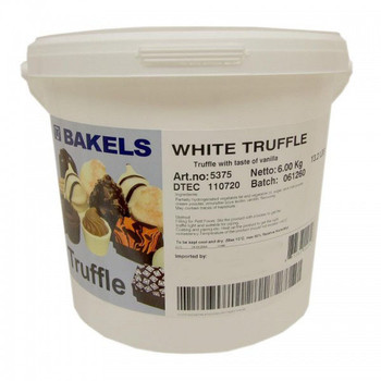 Bakels White Truffle Ganache 6kg