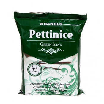 Bakels Green Ready To Roll Pettinice Fondant Icing 750G