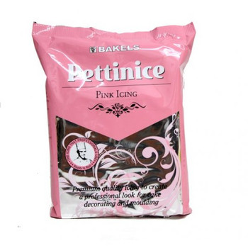 Bakels Pink Ready To Roll Pettinice Fondant Icing 750G