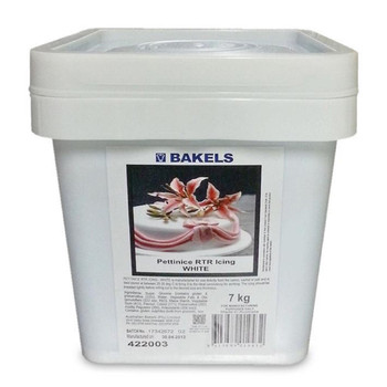 BAKELS WHITE READY TO ROLL ICING PETTINICE 7KG