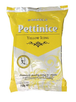 Bakels Yellow Ready To Roll Pettinice Fondant Icing 750G