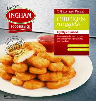 Ingham's Gluten Free Chicken Nuggets