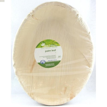 Palm Leaf Deep Salad Bowl 9""