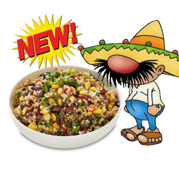 Mexican Quinoa & Bean Salad 2.5kg