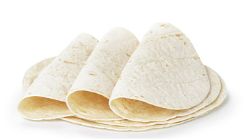 "Flour Tortillas 12"" Round 12 Pack"