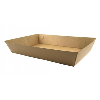 Kraft Takeaway Food Trays #4 x 60 Pack