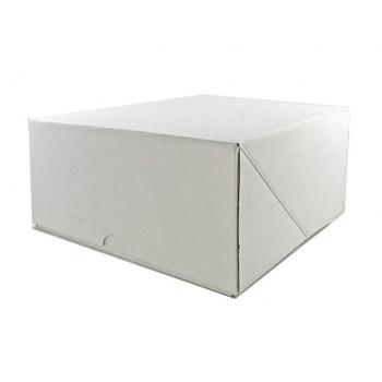 "White Cake Box  7"""