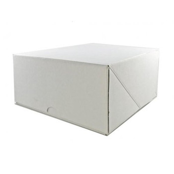 "White Cake Box  9"""