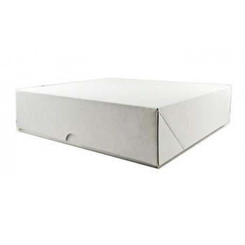 White Cake Box For Tarts  9""