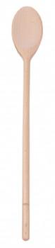 Wide Mouth Wooden Spoon 40cm - Mondo