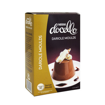 Nestle Dariole Moulds 50 pack