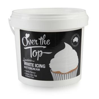 Over The Top White Buttercream 1.7kg