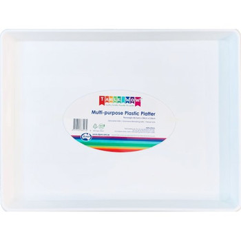 Reusable Multi Purpose Rectangle Platter For Slab Cakes