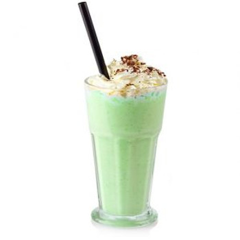 Lime Spider Flavoured Milkshake