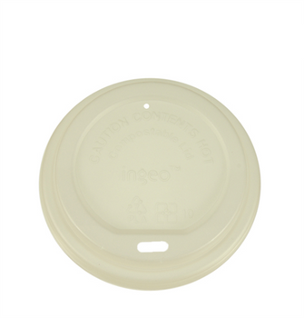 Compostable Hot Cup Travel Sipper Lids 50 Pack