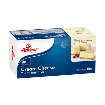 Anchor Cream Cheese 1kg Pack