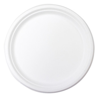"envirochoice Round 10"" Natural Fibre Dinner Plates 25 Pack"