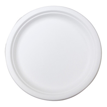 "envirochoice Round 9"" Natural Fibre Dinner Plates 25 Pack"