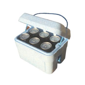 Midget Blue Foam Esky Box + Lid 4 Litre