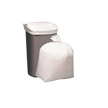 Heavy Duty White Garbage Bags 36 Litre 50 Pack