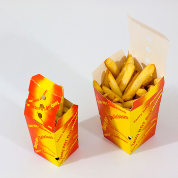 Large Chip Boxes in use