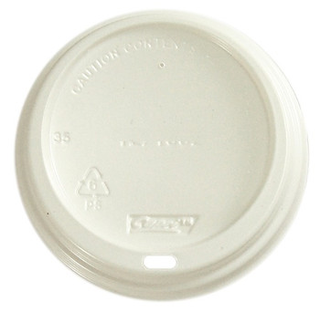 Plastic Hot Cup Travel Sipper Lids 100 Pack