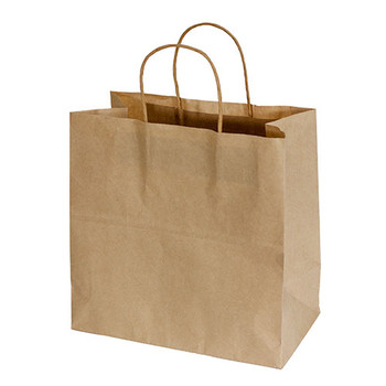 Medium Kraft Paper Bags With Twist Handles