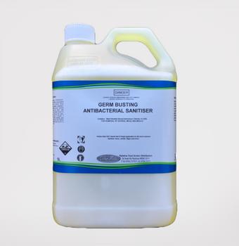Germ Busting Antibacterial Sanitiser 5 litre bottle