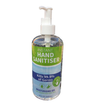 Instant Hand Sanitiser 500ml Pump Bottle