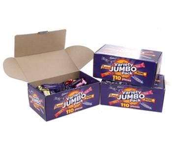 Cadbury Variety Jumbo Packs