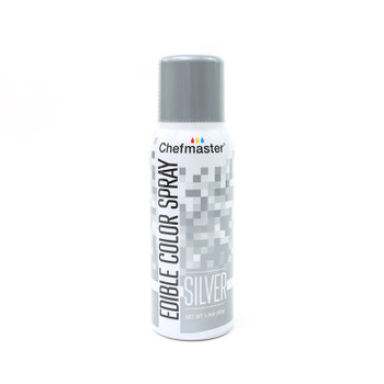 Chefmaster Edible Silver Spray 42g