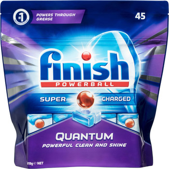 Finish Powerball Supercharged Dishwashing Tablets 45pk