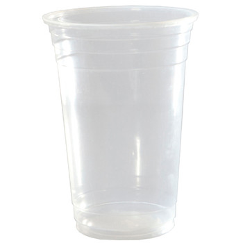 18oz Clear Plastic Cups 50 Pack