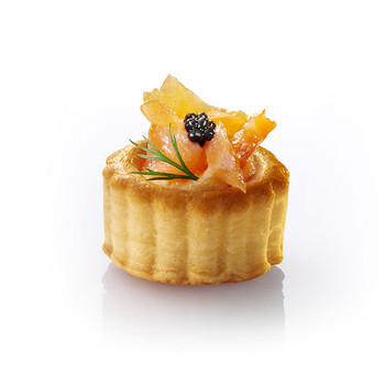 Pidy Mini Round Vol-Au-Vent 3.5cm