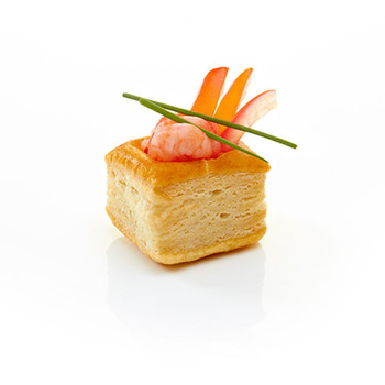 Pidy Mini Sqaure Vol-Au-Vent Filled