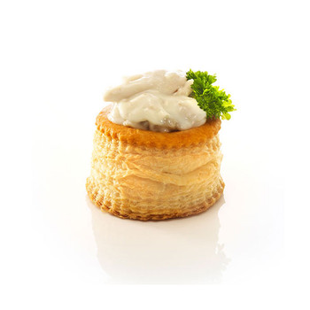 Pidy Standard Round Vol-Au-Vent Filled
